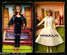 GREASE Barbie Doll Sandy Black Leather Yellow Skirt Olivia Newton John NO BOXS ""