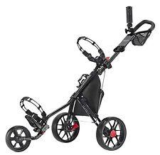 Caddytek 11.5 V3 ALU 3 Rad Golf Push Trolley leicht Black Edition Modell 2017