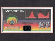 Antarctica, 100 Dollars 2001, UNC