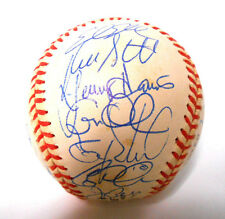 Luis Gonzalez Buck Showalter 1999 Arizona Diamondbacks Signed Autograph Baseball
