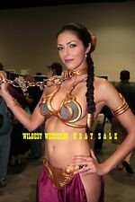 ADRIANNE CURRY Star Wars Slave BARE BELLY BUTTON Sexy Busty Photo HAREM GIRL l