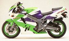 KAWASAKI 3 COLOUR TOUCH UP KIT ZX9R 1994 - 1995 GREEN WHITE & VIOLET.