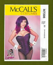 McCalls Sewing Pattern 7398~Yaya Han's Bodysuit~Collar, Cuffs & Tail (14-22)