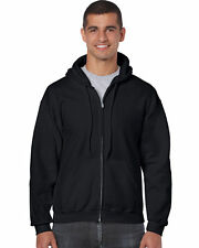 New Men's Noiz Black Full Zip Hoodie Size X-Large Brand New!