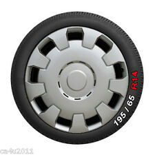 "14"" Peugeot 206 Wheel Trims, Hub Caps, Wheel Covers. Set of 4. New WT123-14"