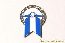 "VESPA Metall-Plakette ""Vespa Club Argentina"" - Klub Argentinien Emblem Emaille"