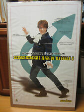 Vintage Austin Powers International man of mystery? 2002 movie poster 467