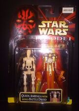 Star Wars Episode I Queen Amidala with Bonus Battle Droid 2 pack