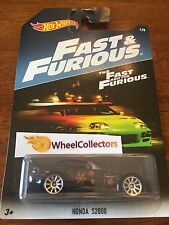 Honda S2000 * BLACK * FAST & FURIOUS Hot Wheels Walmart Only