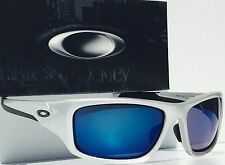 NEW* Oakley VALVE w Blue Ice Iridium Lens In Silver Sunglass 9243-07 $240