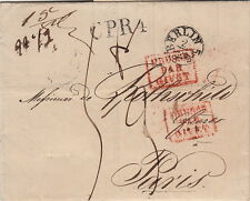 Lettre/Cover Germany Berlin Big Taxe 1838 Rothschild
