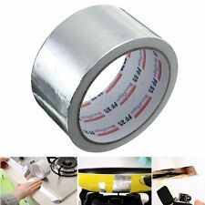 50mm x 17m Roll Silver Adhesive Aluminium Foil Repairs Heating Duct Sealing Tape
