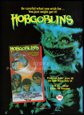 HOBGOBLINS__Original 1988 Trade Print AD movie promo__TAMARA CLATTERBUCK__MST3K