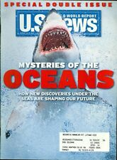 2004 U.S. News & World Report Magazine: Mysteries of the Oceans - Shark on Cover