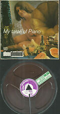 2 Spur Tonband Reel to Reel : My taste of piano (Andy Parker / Frederic)