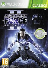 Star Wars The Force Unleashed II Microsoft Xbox 360 Brand New Sealed