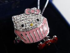 SWAROVSKI HELLO KITTY SWEET RING (SIZE55/MEDIUM) MIB #1120606