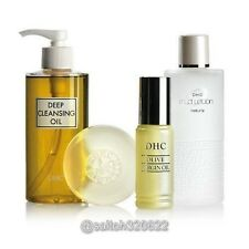 DHC Olive Smooth Complete Set - Deep cleansing oil soap virgin oil lotion Japan