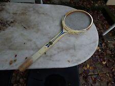 raquette de tennis Snauwaert Expert en bois vintage wooden racquet