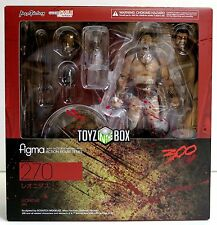 "In STOCK Good Smile Max Factory Figma ""Leonidas"" (300 Sparta)  Action Figure 270"