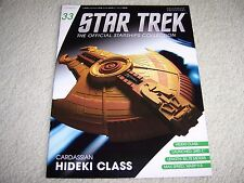 NEW STAR TREK EAGLEMOSS MAGAZINE ONLY. CARDASSIAN HIDEKI CLASS AAA++++++++++++++