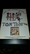 Tom Tom Club What Are Words Worth? Rare Original Promo Poster Ad Framed!