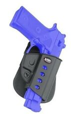 Fobus Holster Paddle Beretta Vertec 9mm .40 cal 92A1 96A1 With Rail 92 96 A1 New