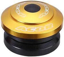 "Acor Fully Integrated Headset 1.1/8"" MTB Bicycle Bike Alloy Gold 41.8mm Bearings"