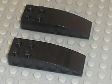 LEGO Black slope bricks ref 44126 / set 4513 10128 7662 7784 6753 7782 7783 6210