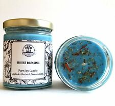 House Blessing Soy Spell Candle Good Fortune Blessings Peace Wiccan Pagan Hoodoo