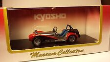Reduced* Kyosho Museum Collection Caterham Super Seven, 1:43 scale