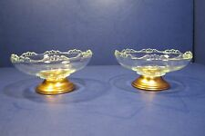 Princess House Crystal Candy Dishes / Candy / Glass / 1970's  Princess House -2