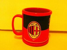 AC MILAN/CUP/MUG/12 oz/SHATTER PROOF/RUBBERIZED/NEW/FUTBOL/SOCCER/UNDICI/4399