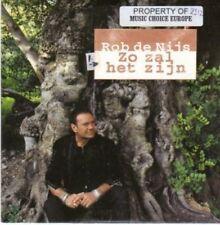 (BI141) Rob de Nijs, Zo Zal Het Zijn - 1998 CD