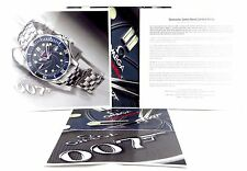 OMEGA WATCHES JAMES BOND 007 CASINO ROYALE 2006 LIMITED EDITION WATCH PRESS KIT
