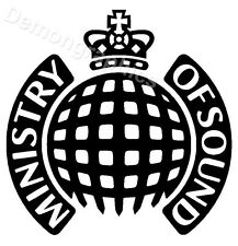 1x MINISTRY OF SOUND Sticker Decal Window Car Laptop FREE POST ref 36