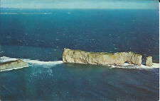 PERCE, QUEBEC.  IMPRESSIVE CLOSE-UP OF THE ROCK, 1500 FEET LONG. / POSTMARK 1967