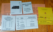 A-Line HO #13111   / E-Z Read Modelers Scale Labels
