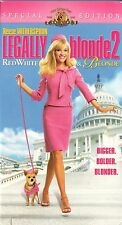 Legally Blonde 2: Red White & Blonde (VHS) Reese Witherspoon