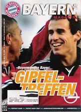 Bayern Magazin 8/52 , Bayern München - Bayer Leverkusen , 02.12.2000