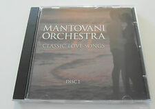 Mantovani Orchestra - Classic Love Songs / Disc 1 (CD Album) Used very good