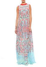 NWT Alexis  Regi Aztec-Print Georgette Maxi Dress Size S  $435