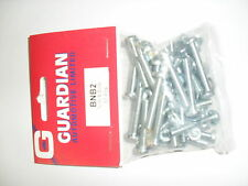 NEW PACK OF 30 FIXING NUTS AND BOLTS FOR TRAILER CARAVAN TOWING SOCKET