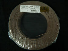 22 GAUGE 2 CONDUCTOR 25 FT BROWN ALARM WIRE STRANDED COPPER HOME SECURITY CABLE