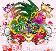 Mardi Gras Party 10x10  FT CP SCENIC PHOTO BACKGROUND BACKDROP SN1788