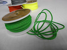 5' BCY #24 NEON GREEN/BLACK D Loop Materiel! Compound Bow String Release Loop