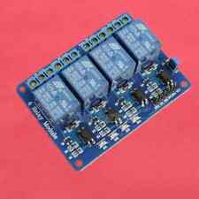 5V 4-Channel Relay Module Low Level Triger with Optocoupler DE