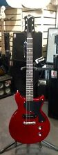 "REVELATION RLJ ""JUNIOR"" ELECTRIC GUITAR, WINE RED, NEW"