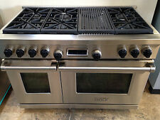 "Wolf DF486C 48"" Professional Dual Fuel Range Stove 6 Burners + Charbroiler"