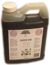 Neem Oil 32 Oz. 100% Pure PREMIUM Virgin ORGANIC COLD PRESSED DIY